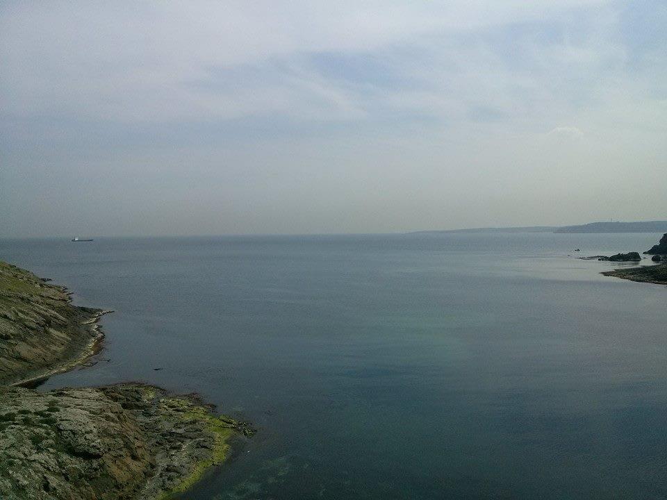 The Black Sea, Rumeli Lighthouse Village, Istanbul