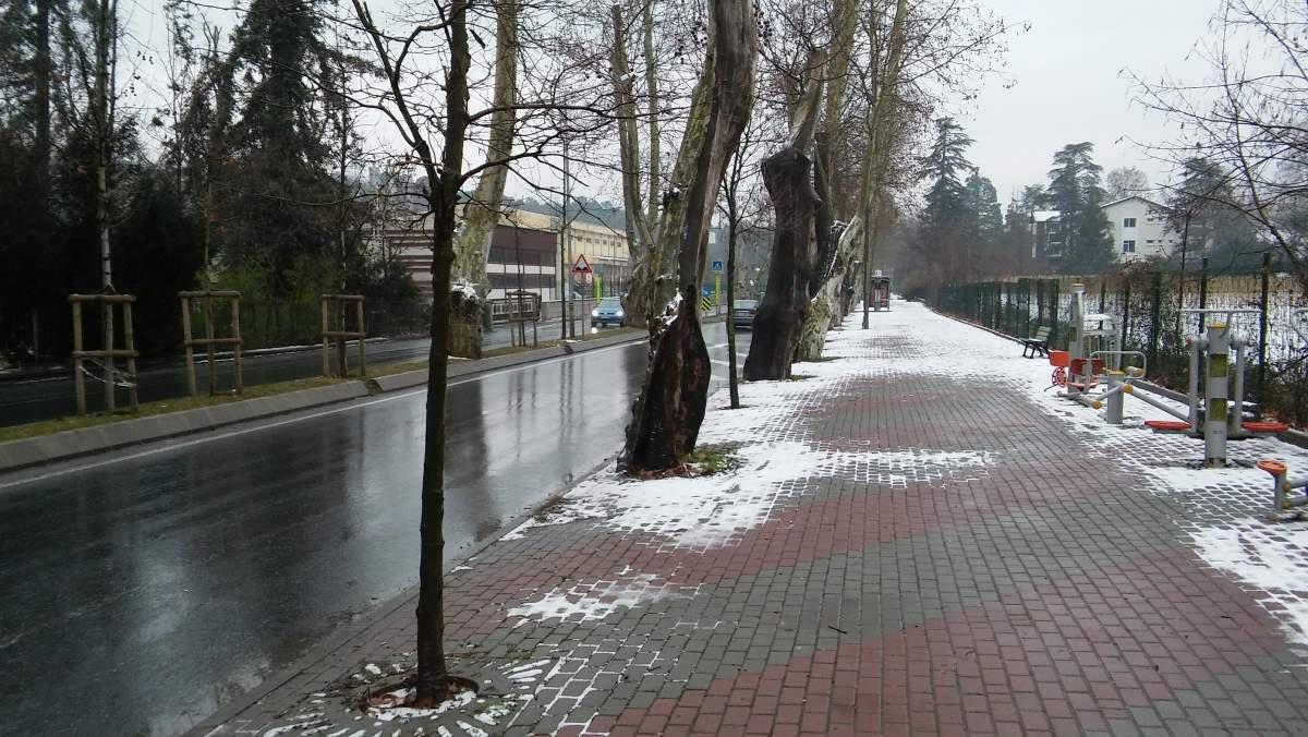 Bahcekoy, Istanbul - 2017-01-28