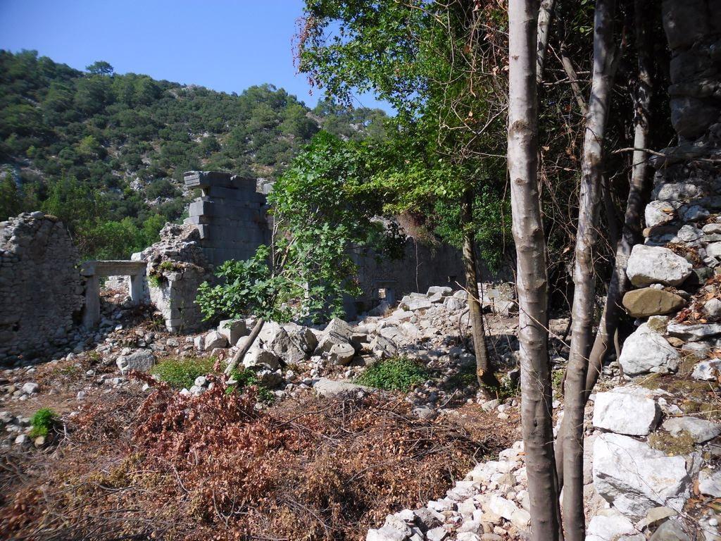 The ancient city of Olympos - 2012, Antalya, Turkey - 33