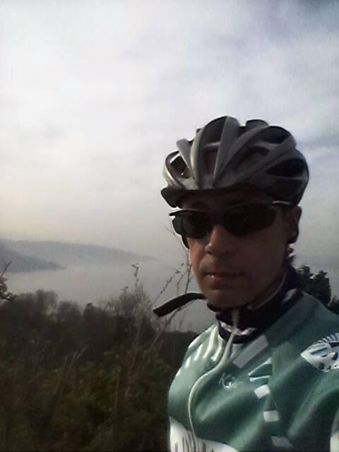 A bike ride in Istanbul: Özgür Nevres (me)