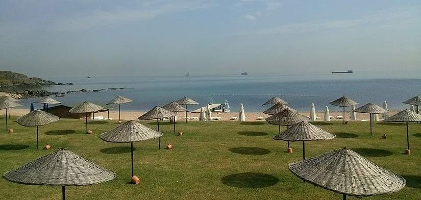 Dalia Beach, near Black Sea, Istanbul (featured)