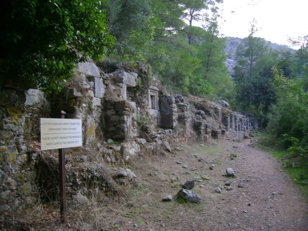 The ancient Lycian city of Olympos, Antalya, Turkey - 09