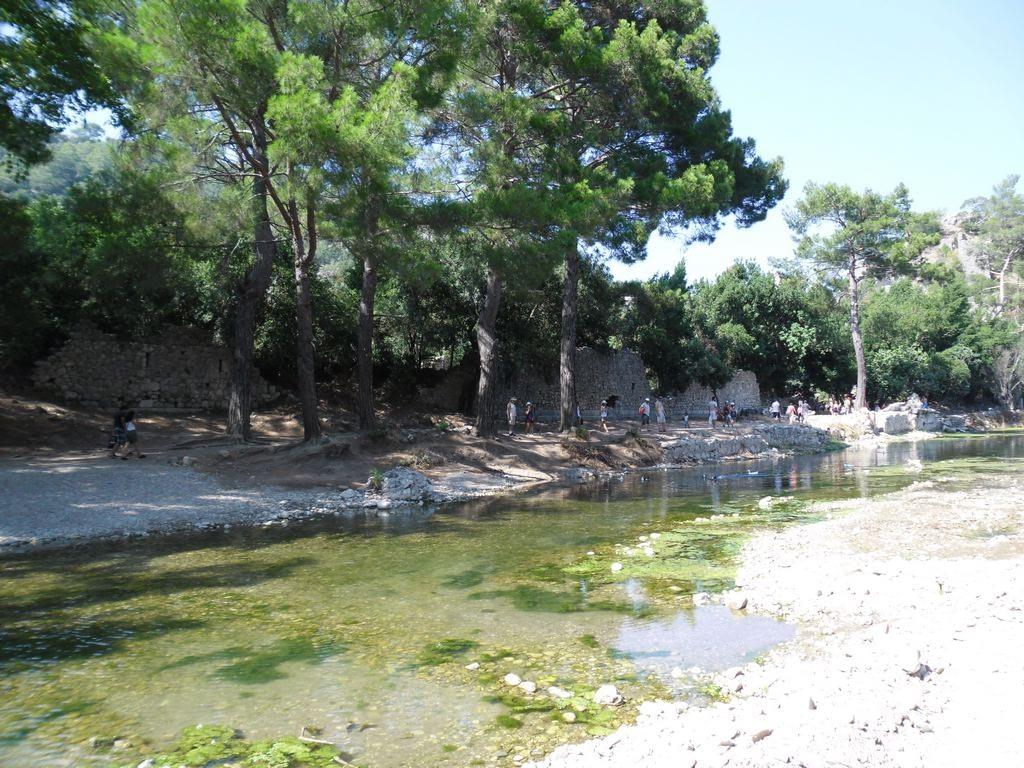 The ancient city of Olympos - 2012, Antalya, Turkey - 12