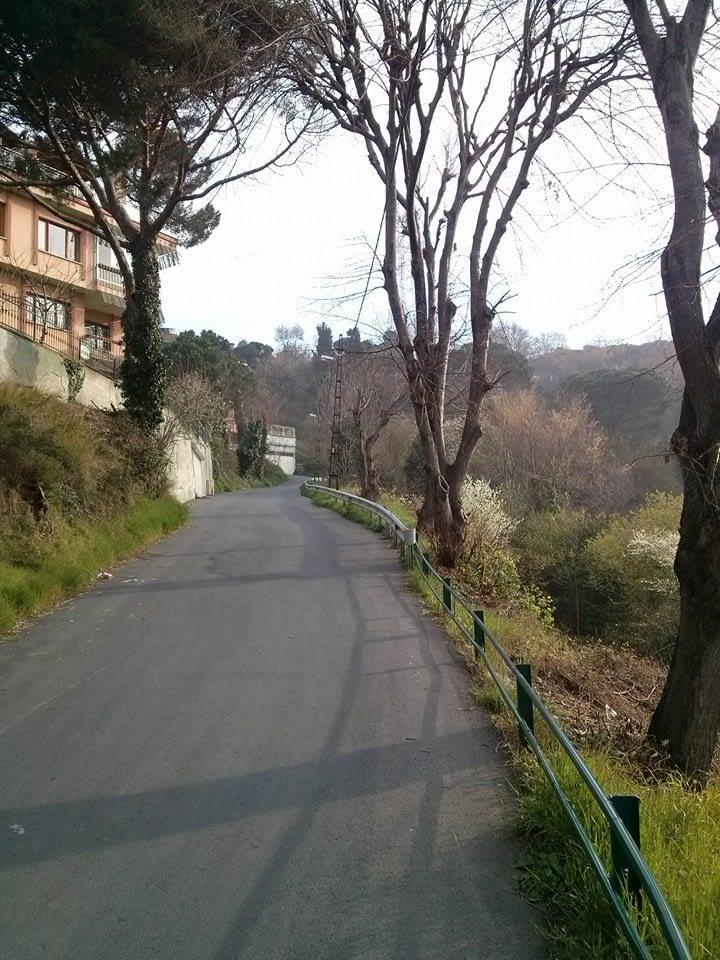 A bike ride in Istanbul: Havantepe road