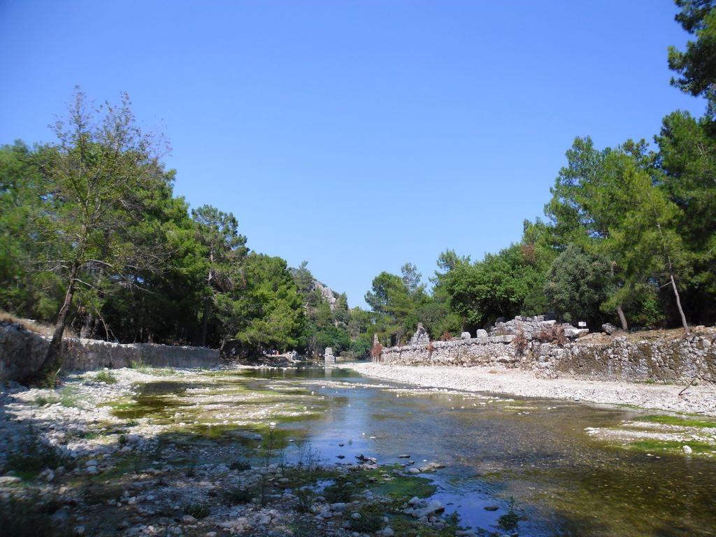 The ancient city of Olympos - 2012, Antalya, Turkey - 04