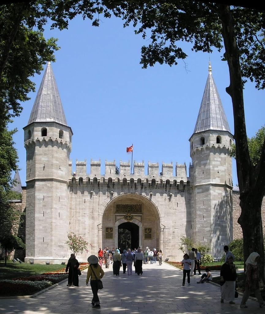 The Gate of Salutation, Topkapı Palace, Istanbul