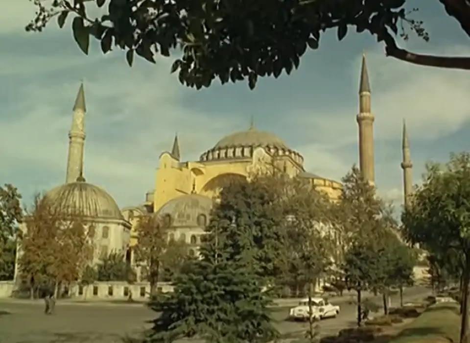 Hagia Sophia, Istanbul in 1967