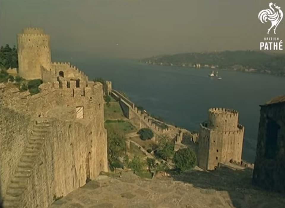 Istanbul in 1967 - Rumelian Castle