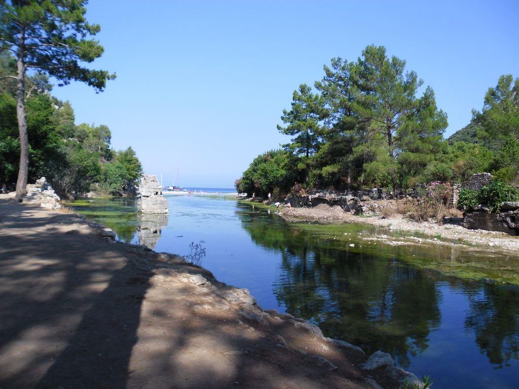 The ancient city of Olympos - 2012, Antalya, Turkey - 39