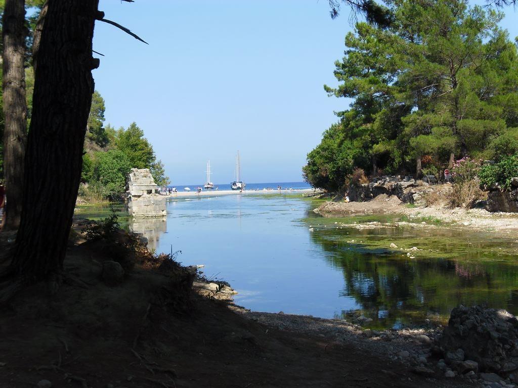 The ancient city of Olympos - 2012, Antalya, Turkey - 23