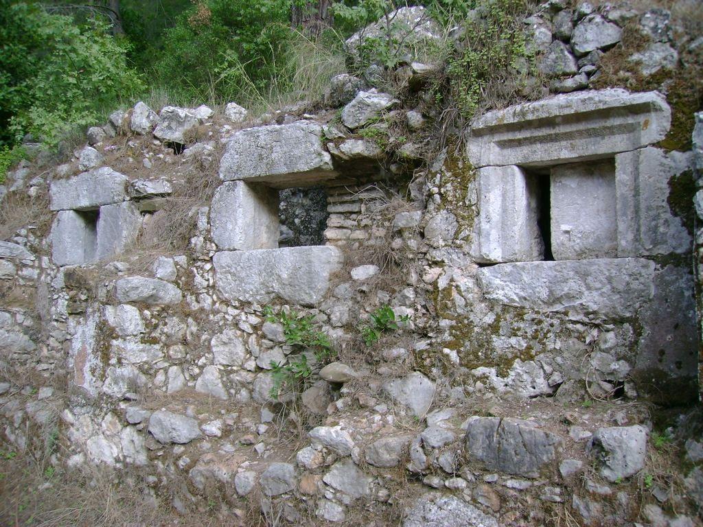 The ancient Lycian city of Olympos, Antalya, Turkey - 08