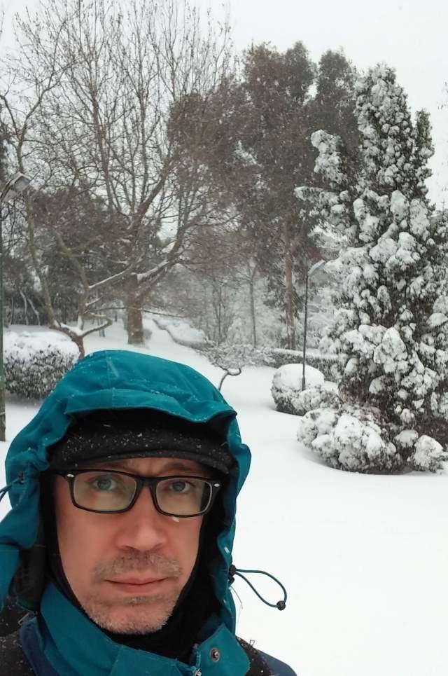 Istanbul under heavy snow